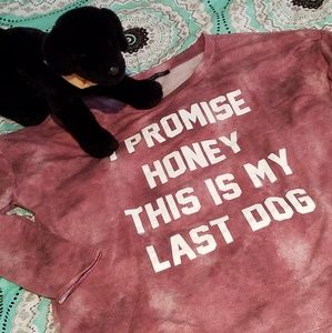 "Papermoon ""Last Dog"" long sleeve top"